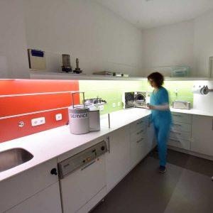 Labor der Zahnarzt-Praxis Dr. K